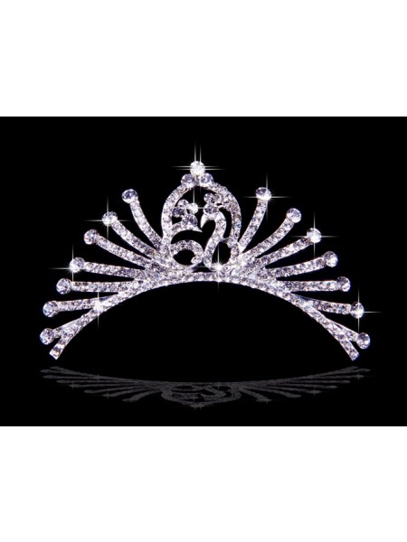 Graceful Alloy Rhinestone Wedding Headpieces