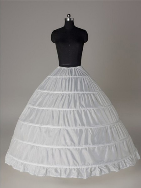 Nylon Floor Length Wedding Petticoats