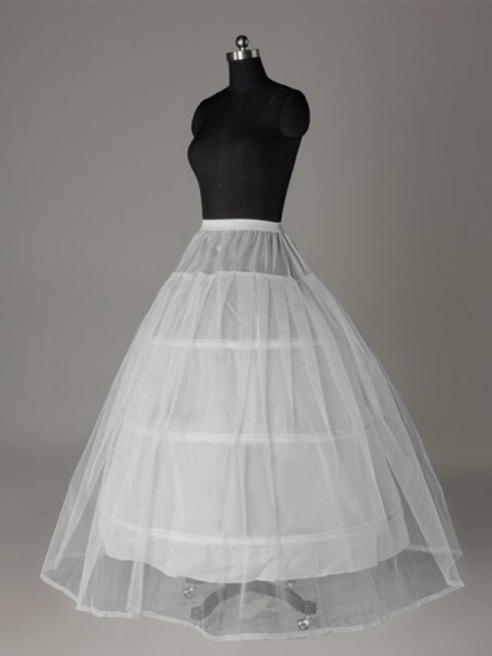 Tulle Netting Floor Length Wedding Petticoats